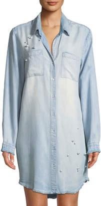 Velvet Heart Marjorie Chambray Shirtdress