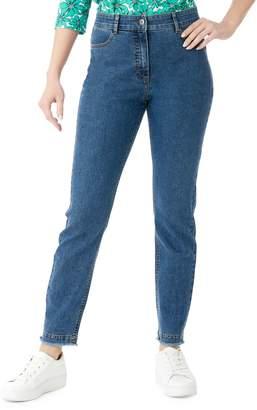 Olsen Urban Blooom Mona Slim Cropped Jeans