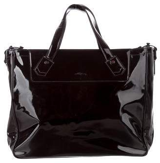 Bill Amberg Patent Leather Satchel