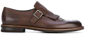 Ermenegildo Zegna fringed monk shoes