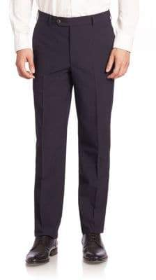 Saks Fifth Avenue COLLECTION Textured Stripe Pants