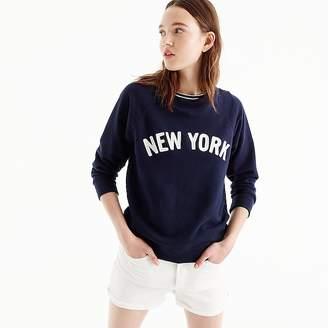 New York sweatshirt $49.50 thestylecure.com