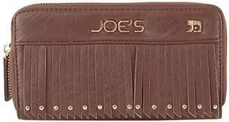 Joe's Jeans Bronco Zip Around Wallet With Tassles