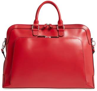 Brera LODIS Los Angeles Audrey Under Lock & Key RFID Leather Briefcase