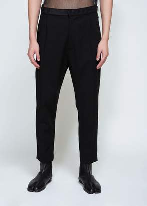 Ann Demeulemeester Waldo Ribbon Pleated Trouser