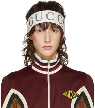 Gucci Ivory Logo Headband