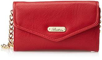 Buxton Chained Crossbody Wallet