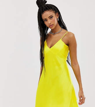 Collusion COLLUSION satin cami dress