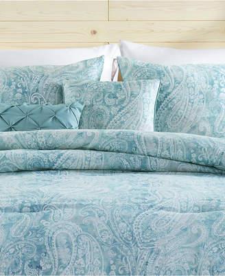 Vcny Home Keisha 5-Pc. King Paisley Comforter Set Bedding