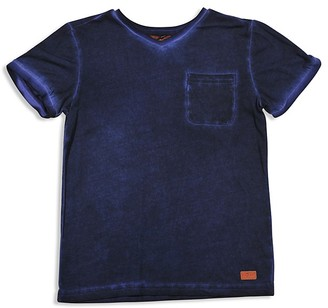 7 for All Man Kind Boys' Vintage Look Washed Tee - Big Kid $35 thestylecure.com