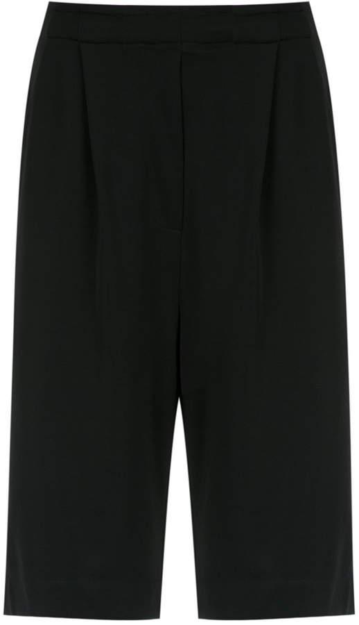 wide leg bermuda shorts