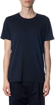 Burberry Navy Cotton T-shirt