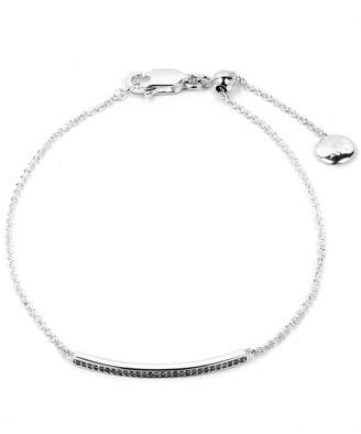 Monica Vinader Diamond Short Skinny Bar Bracelet
