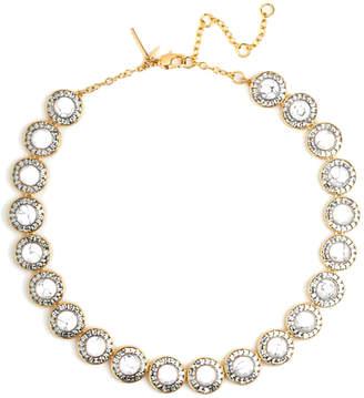 Lele Sadoughi 14K Plated Crystal & Resin Necklace