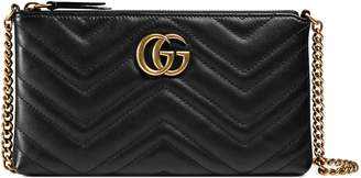 GG Marmont mini chain bag $795 thestylecure.com