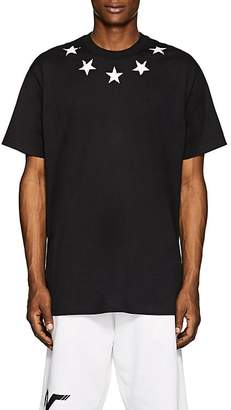 Givenchy Men's Star-Print Cotton T-Shirt