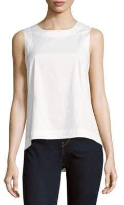 Lafayette 148 New York Melina Solid Sleeveless Top