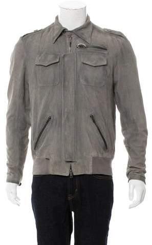 S.W.O.R.D. Suede Utility Jacket