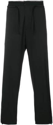 Oamc drop-crotch trousers