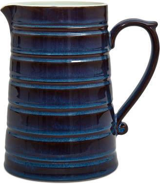 Denby Dinnerware Peveril Collection Stoneware Ridge Pitcher