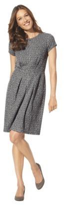Merona Women's Jacquard Fit & Flare Dress - Assorted Colors