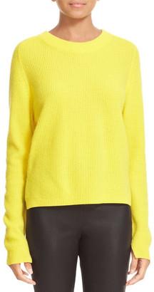 Rag & Bone Valentine Cashmere Crop Sweater $395 thestylecure.com