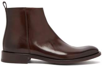 O'Keeffe's O'Keeffe Okeeffe - Algy Leather Chelsea Boots - Mens - Dark Brown