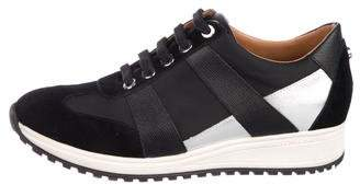 Longchamp Canvas Low-Top Sneakers