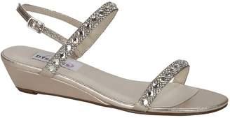 Dyeables Women's Jasmine Wedge Sandal Size 10 W