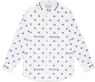 Gucci Children's star fil coupé shirt