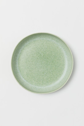 H&M Glazed stoneware plate