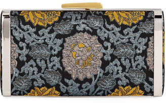 Hayward Long Box Brocade Clutch Bag