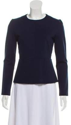 J Brand Long Sleeve Peplum Top