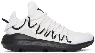 Y-3 White Kusari Boost Sneakers