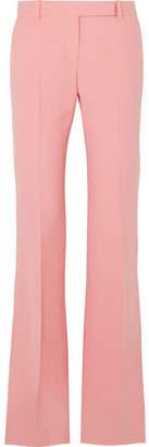 Alexander McQueen Wool-blend Bootcut Pants - Pink