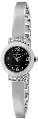 Peugeot Women's 'Half Bangle Bracelet' Quartz Metal and Alloy Casual Watch