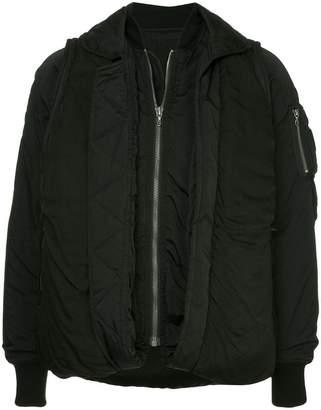 Julius zipped bomber jackete