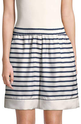 Dolce & Gabbana Striped Silk Short