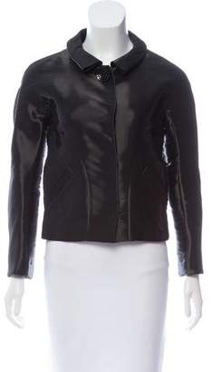 Oscar de la Renta Tailored Iridescent Jacket