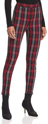 Alexander Wang Plaid Skinny Pants