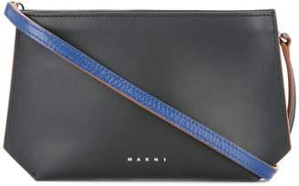 Marni contrast edge pouch