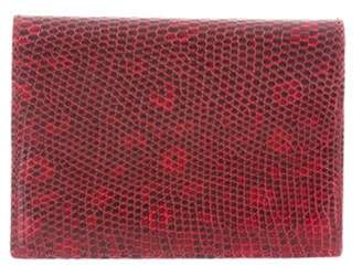 Tiffany & Co. Lizard Cardholder red Lizard Cardholder