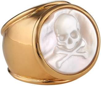 Asha By Ashley Mccormick Skull Bones Ring