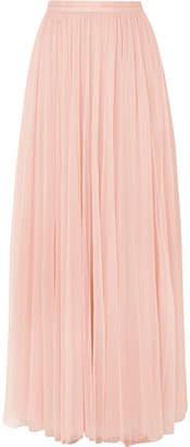 Needle & Thread Tulle Maxi Skirt - Blush