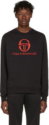 Gosha Rubchinskiy Black Sergio Tacchini Edition Pullover $130 thestylecure.com