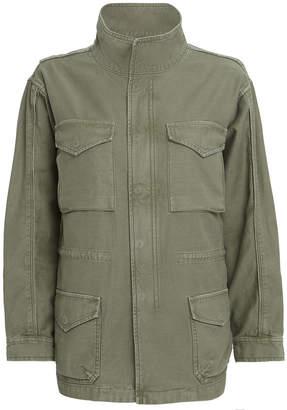 Frame Cotton Military Service Jacket