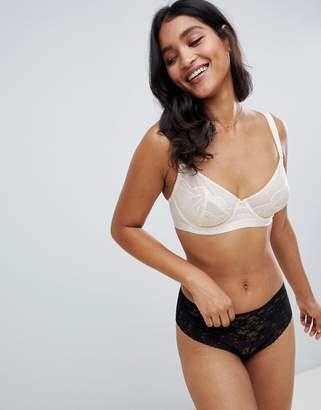 Heidi Klum Intimates Lace bra in cream