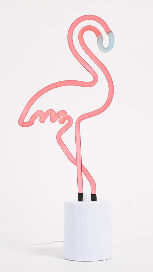 Neon Flamingo Large Light