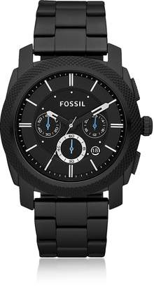 Fossil Machine Chronograph Black Stainless Steel Watch