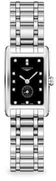 Longines Dolcevita Diamond& Stainless Steel Watch
